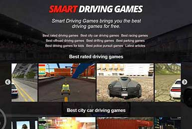 Driving games for girls