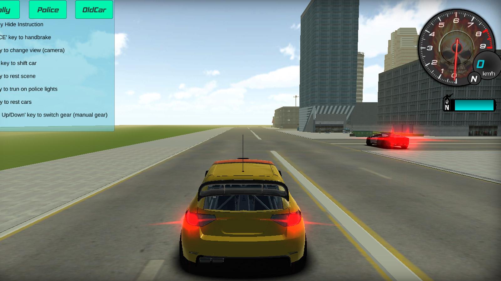 Driving Games: 3D Car Simulator