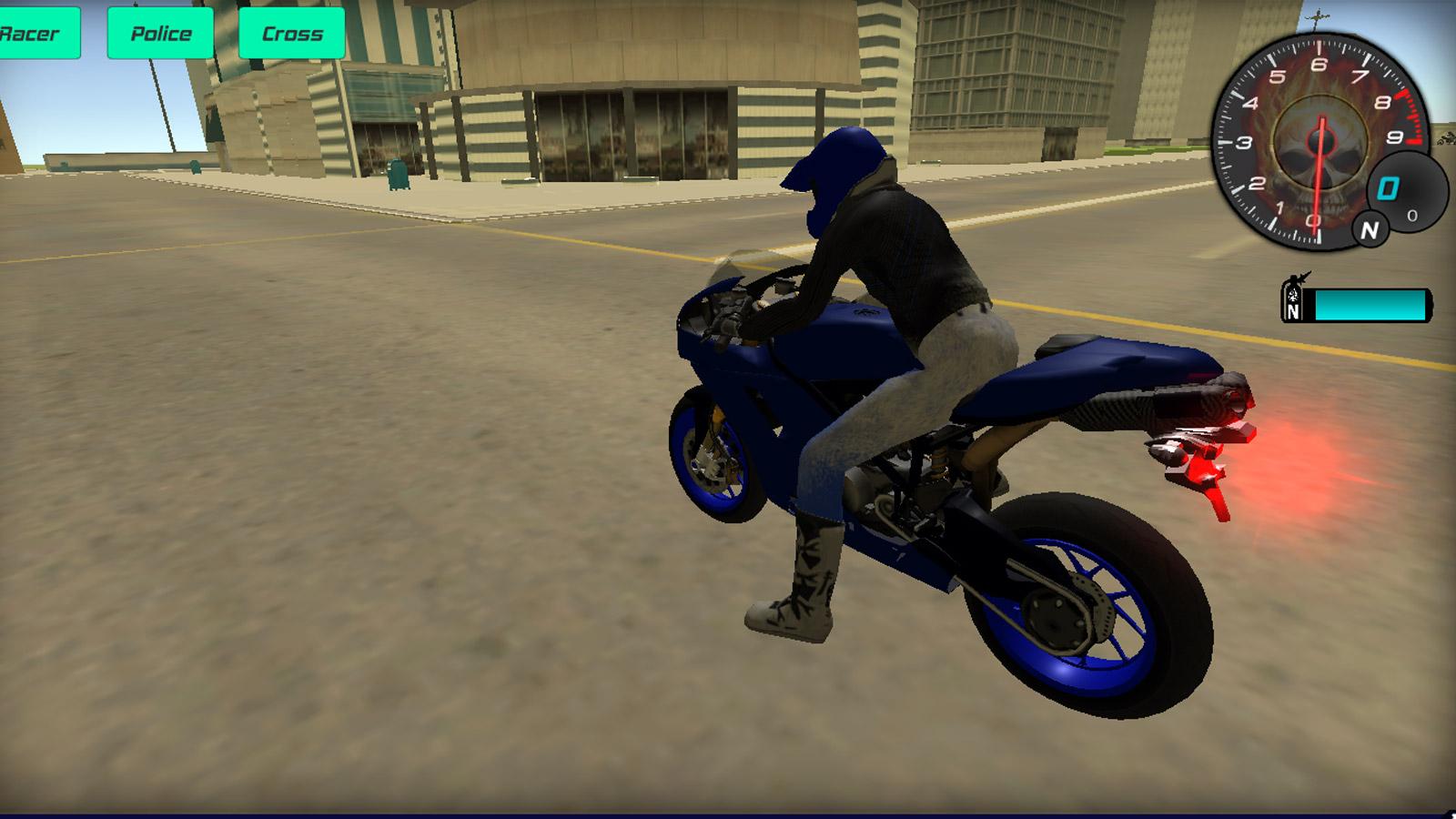 Driving Games: 3D Moto Simulator 2