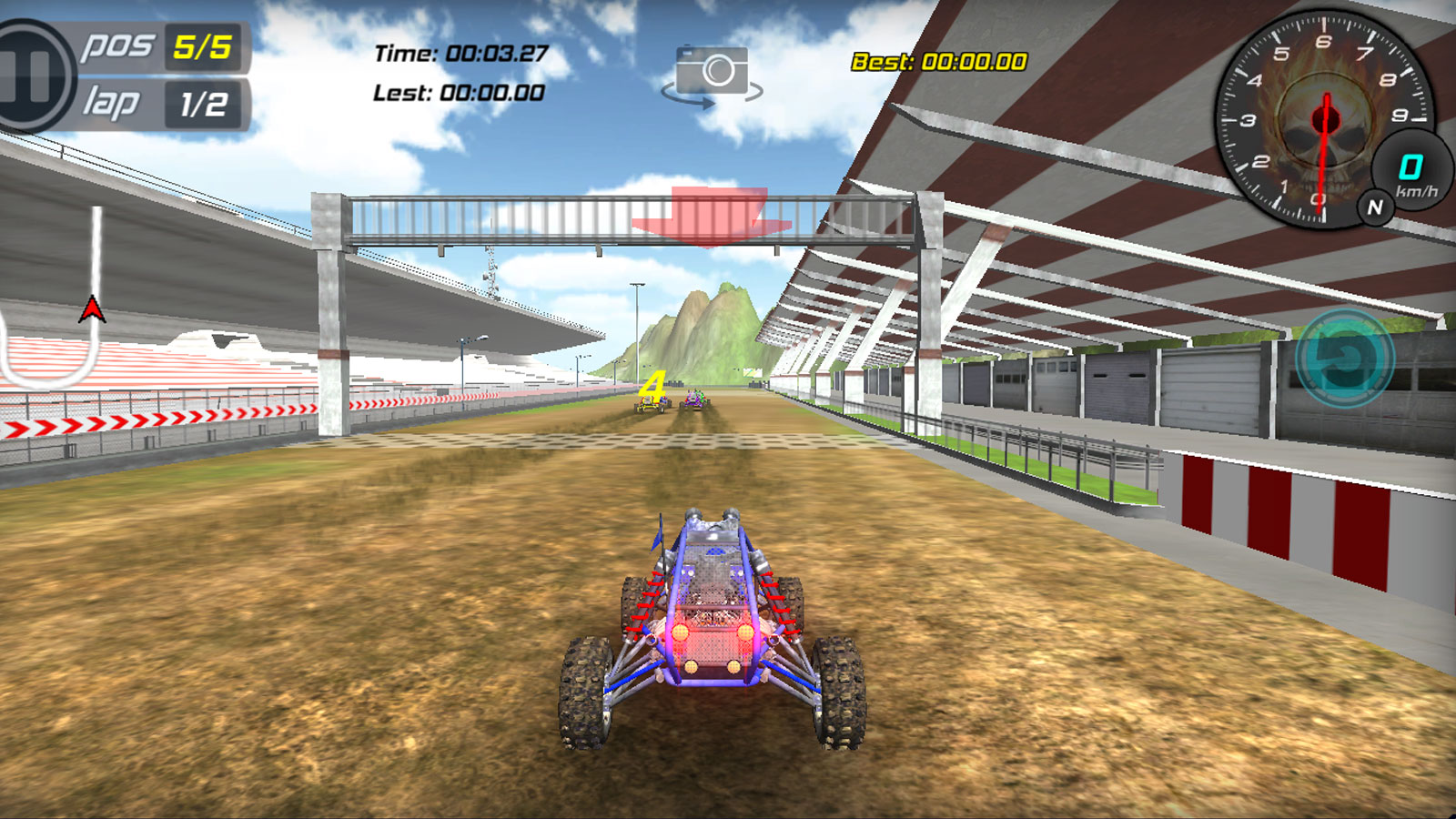 Driving Games: Buggy Rider