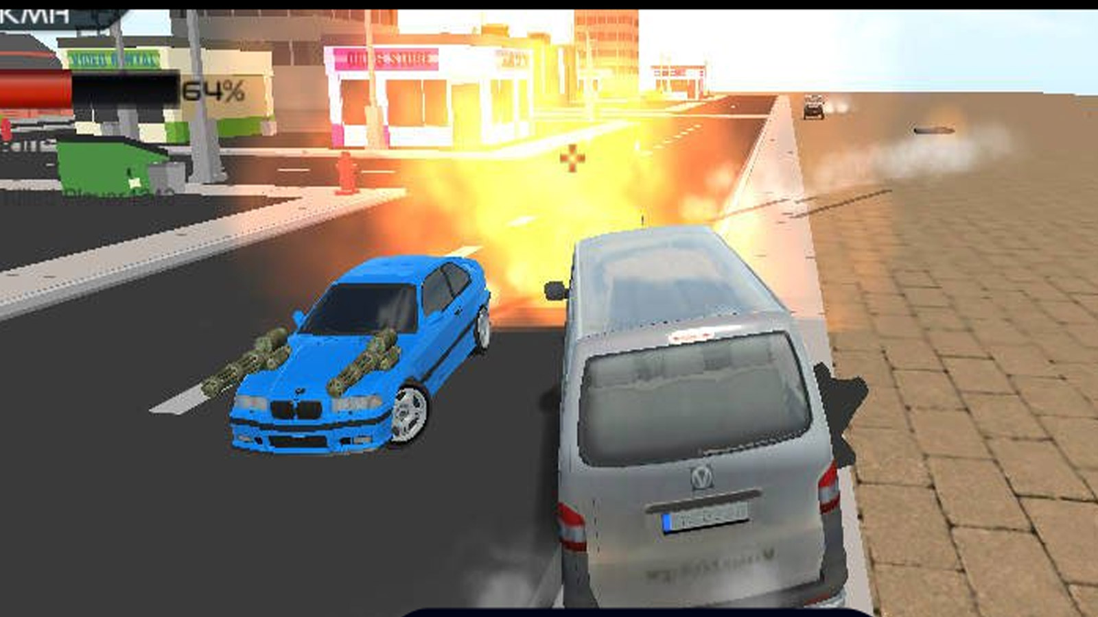 Driving Games: Crunched Metal: Drifting Wars