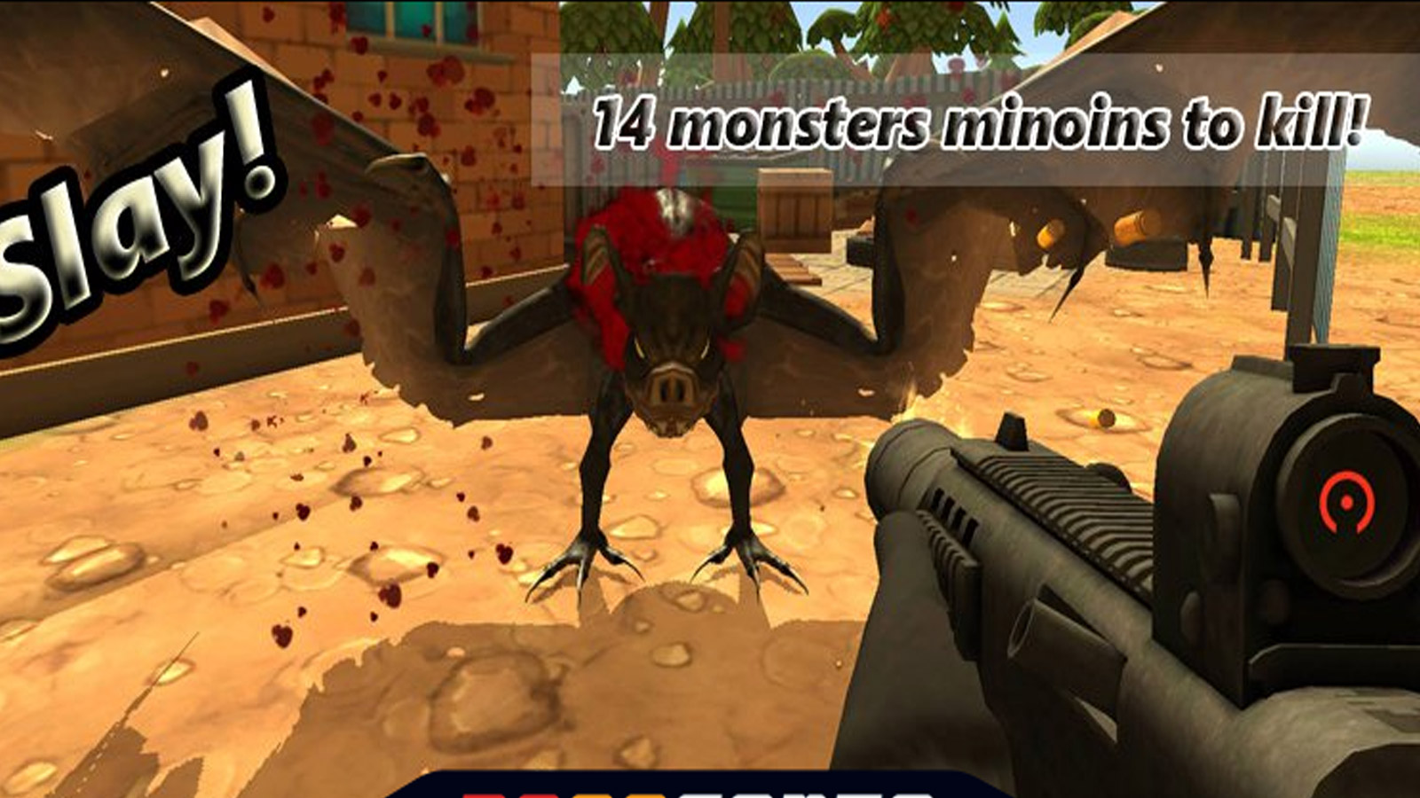 Driving Games: Monster Hunting City Shooting