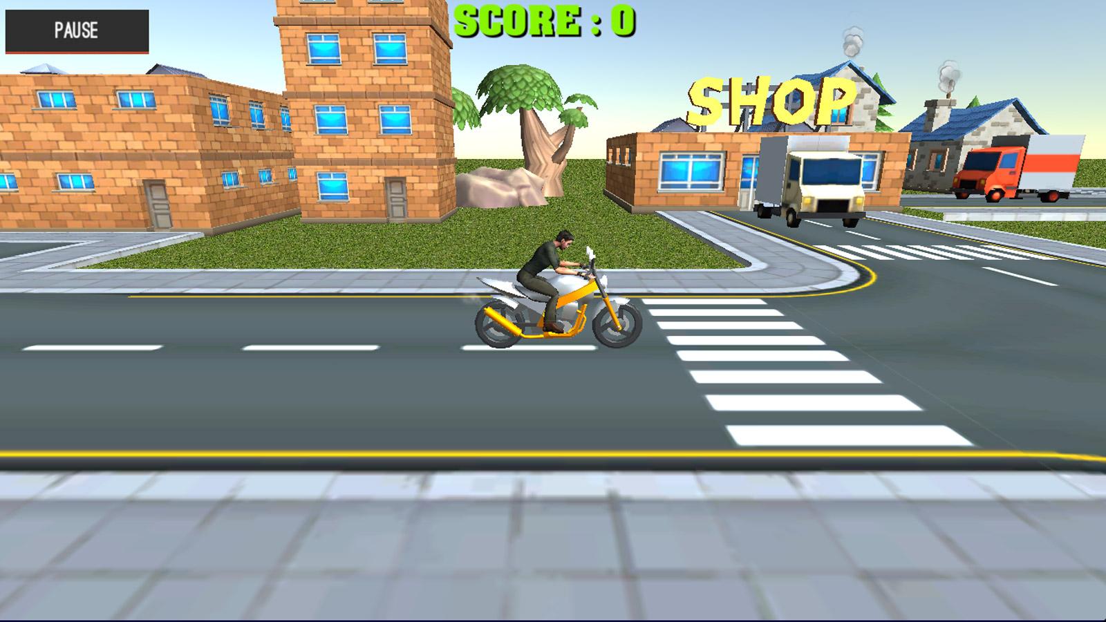 Driving Games: Moto Sport Bike Racing 3D