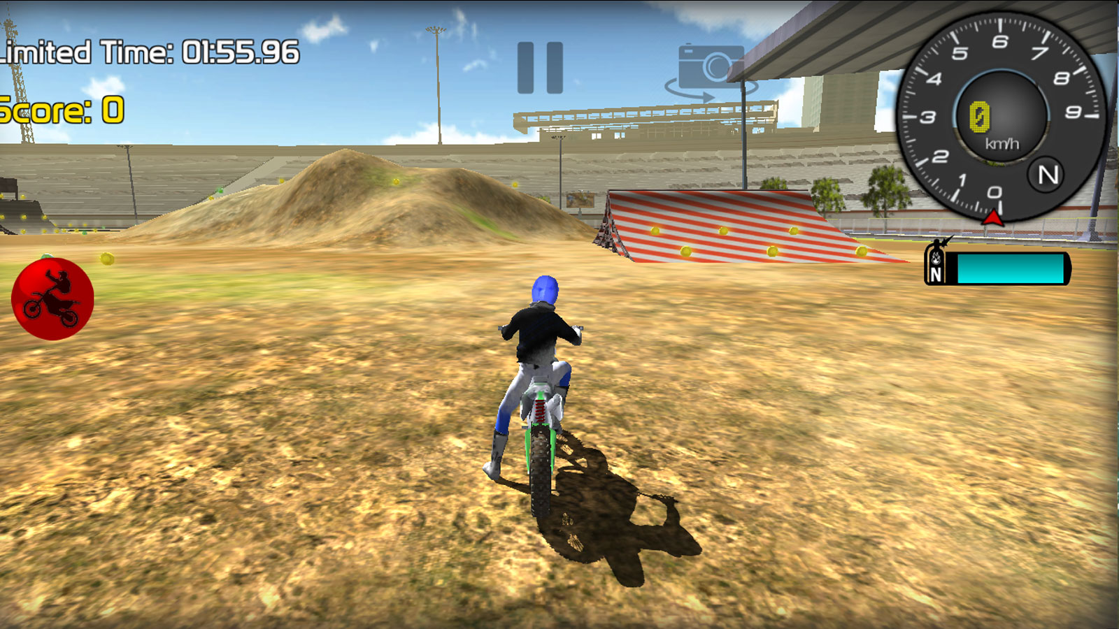 Driving Games: Motorbike Freestyle