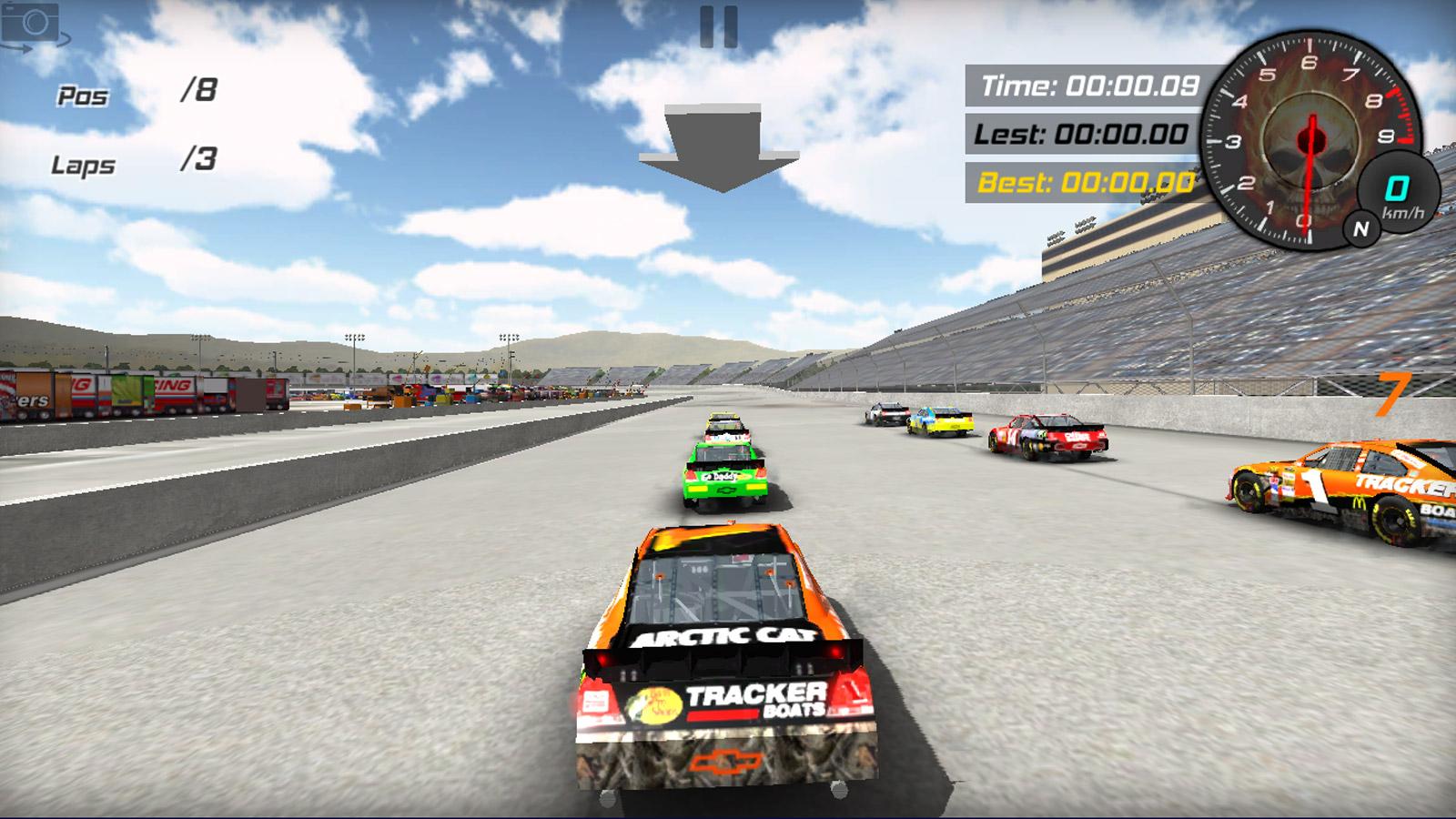 Driving Games: NASCAR Racing