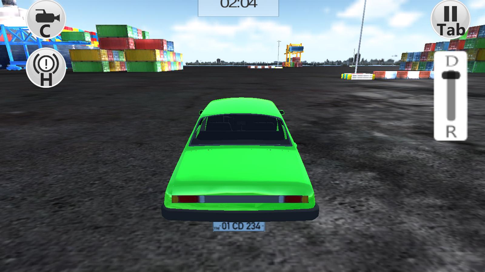 Dribing Games: Port Car Parking