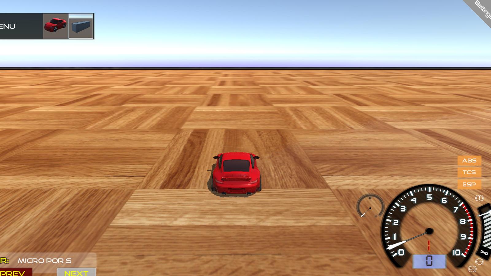 Driving Games: Scrap GL Micro